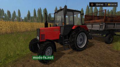 Мод трактора Belarus820