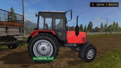 Трактор Беларус 820 в игре FS 17