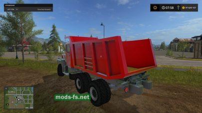 BigRedDump mod