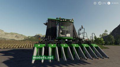 Комбайн для уборки хлопка в игре Farming Simulator 19
