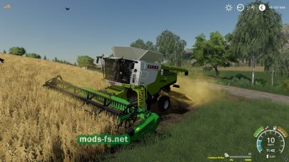 Claas Lexion 780 для Farming Simulator 2019