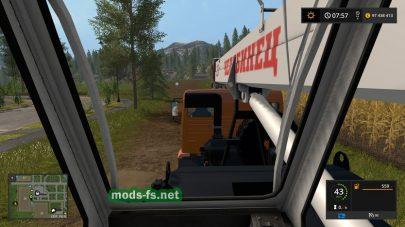 КамАЗ-43118-46 «Челябинец» для Farming Simulator 2017
