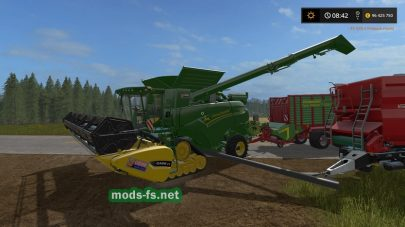 «Crazy John Deere And Cutter» для FS 2017