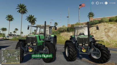 Трактор DeutzAgrostar661 в игре FS 19