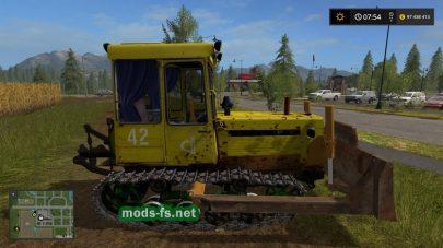 Трактор ДТ-75МЛ в игре FS 17