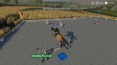 «Equestrian Field» mod FS 19