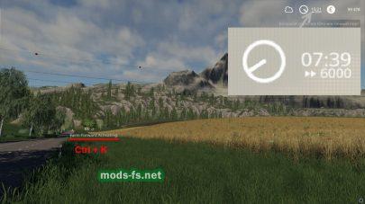 Быстрый рост посевов в игре FS 19