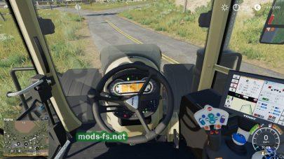 Мод на трактор Fendt1000VarioBlackBeauty