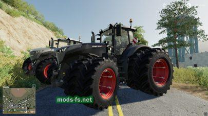Fendt1000VarioBlackBeauty для игры Farming Simulator 2019