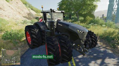 Мод трактора Fendt1000Vario в FS 19