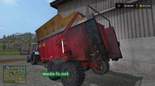 Мод на разбрасыватель навоза в FS 17