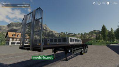 Прицеп для тюков и поддонов в Farming Simulator 2019