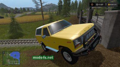Мод на авто Ford Bronco