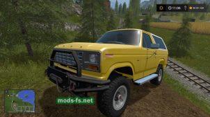 """Скриншот мода """"Ford Bronco"""""""