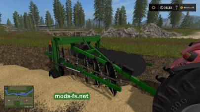 «Frontier WR5417 Hay Rake» для Farming Simulator 2017