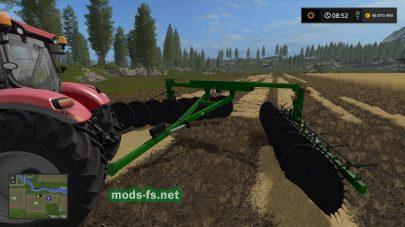 Мод на «Frontier WR5417 Hay Rake»