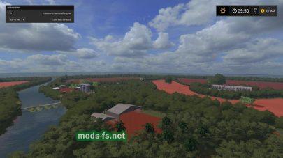 Карта с джунглями для Farming Simulator 2017