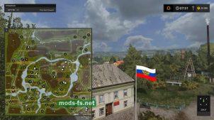 Схема карты «Kerosinovka»