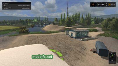 «Kerosinovka» map Farming Simulator 2017