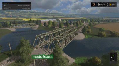 Мост на карте «Kerosinovka»