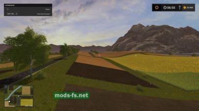 Поля на игровой карте «Trakya»