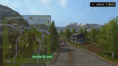 Схема карты «Dugunculu Map»