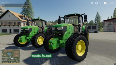 Мод трактора John Deere 6M