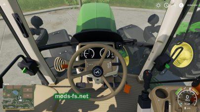 Трактор JD 6M в игре ФС 19