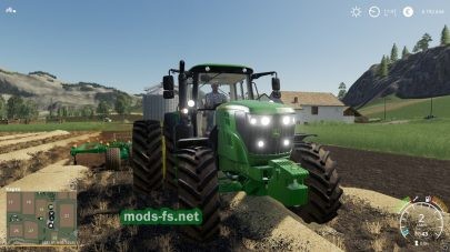John Deere 6M в Farming Simulator 2019