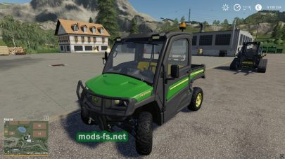 John Deere XUV865M mod