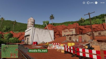 Мод игровой карты для Farming Simulator 19