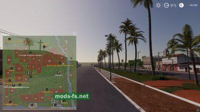 Схема карты «EstanciaLapacho» в игре ФС 19