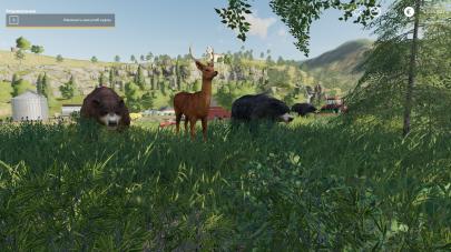 Скриншот мода «Wildtiere»