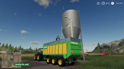 Покупка зерна в FS 19