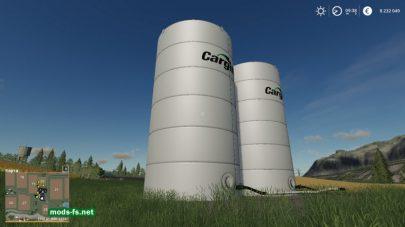 Мод «Placeable Cargill Liquid Fert Refill Tanks»