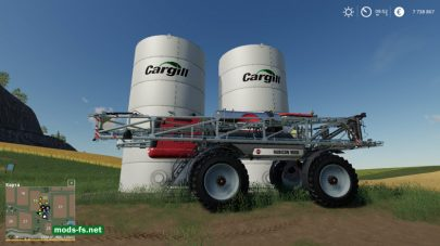 Скриншот мода «»Placeable Cargill Liquid Fert Refill Tanks»»