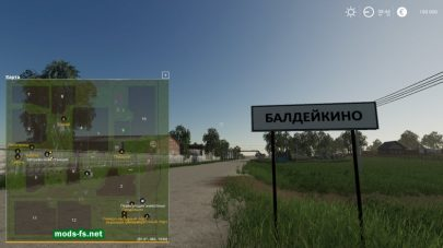 «Baldeykino» map Farming Simulator 2019