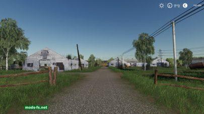 Дорога на карте «Baldeykino» FS 19