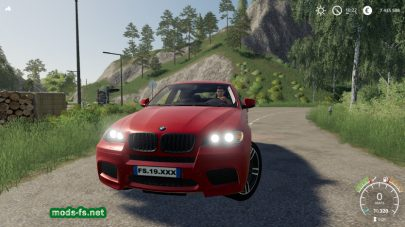 BMW X6M mods FS 2019