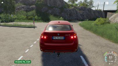 BMW X6M для Farming Simulator 2019