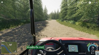 Карта для заготовки леса в Farming Simulator 2019