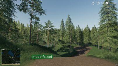 «BergholmenHardcoreForestry» mod
