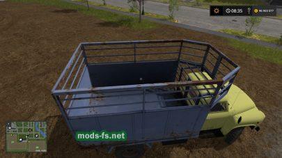 Скриншот мода на ГАЗ-52