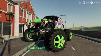 Monster Truck в игре Farming Simulator 2019