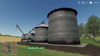 Мод «Harvestore Grain Silo»