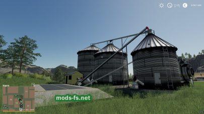 Склад для зерна в FS 2019