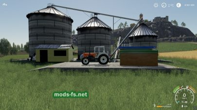 FS19 Large Grain Silo