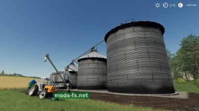 «Harvestore Grain Silo» для Farming Simulator 2019