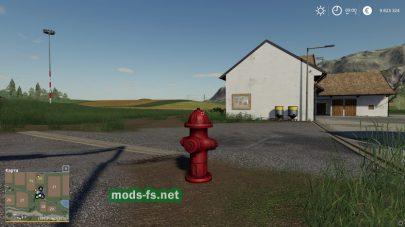 гидрант с водой для Farming Simulator 2019