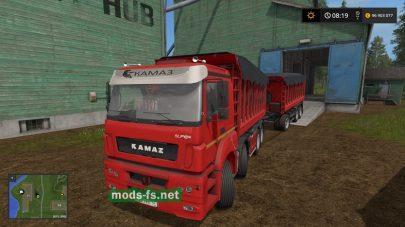 kamaz-40c mod